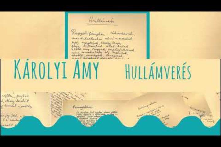 Balatoni Vers-koktél Károlyi Amy Hullámverés