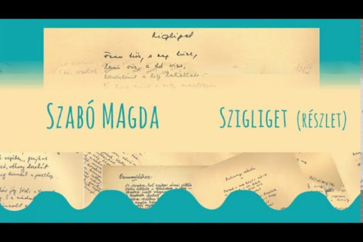 Balatoni Vers-koktél Szabó Magda Szigliget részlet