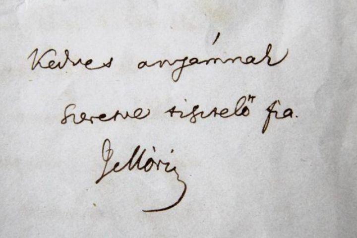 Jókai aláírása