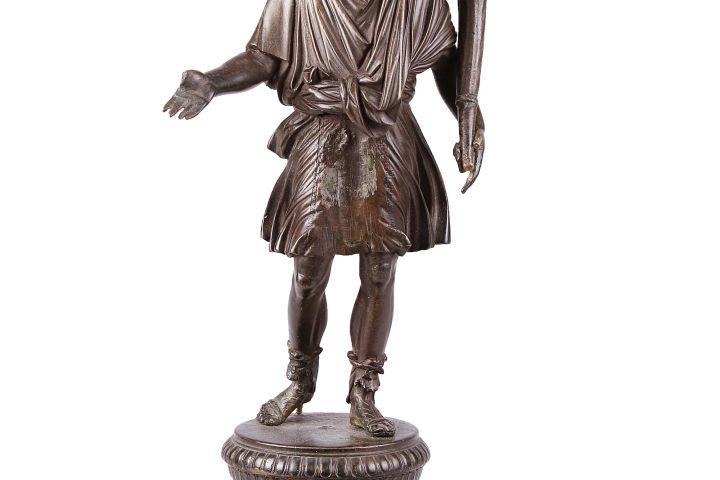 Lart ábrázoló bronzszobor, Gic, 1. század