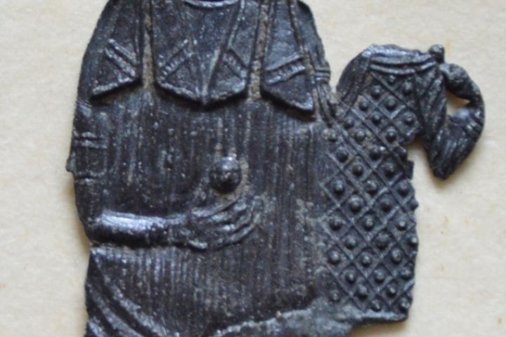 zarándokjelvény, ismeretlen lelőhely, 13/14. század